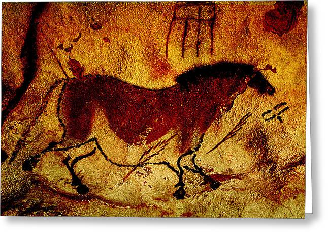 Lascaux Horse Greeting Card
