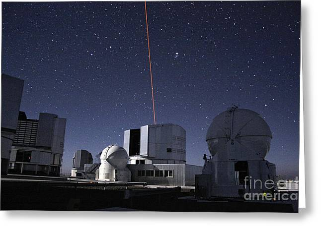 Laser Guide Star, Paranal Observatory Greeting Card