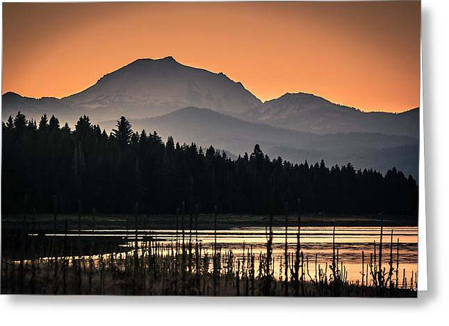 Lassen In Autumn Glory Greeting Card