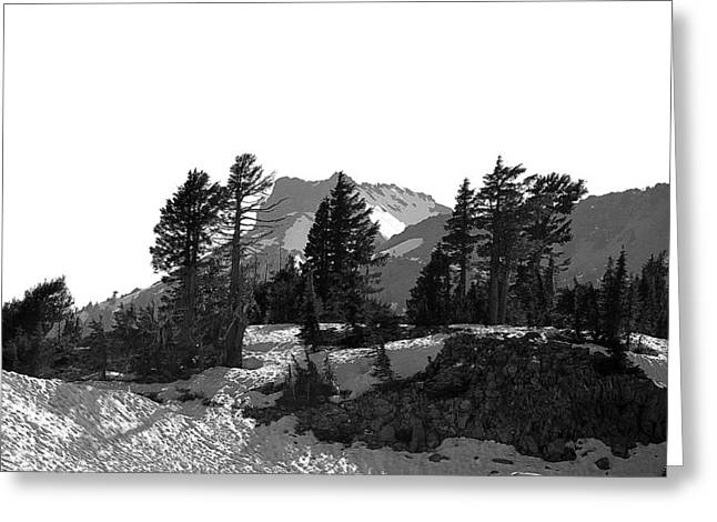 Greeting Card featuring the photograph Lassen National Park by Lori Seaman