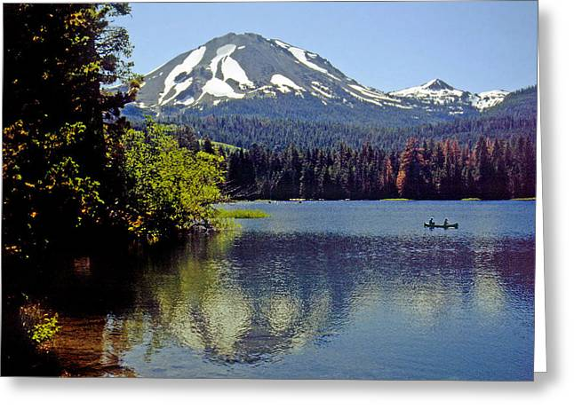 Lassen Reflections Greeting Card