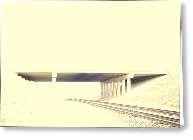 Last Chance Overpass Greeting Card