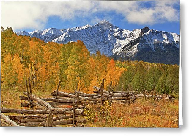 Last Dollar Road - Telluride - Colorado Greeting Card by Jason Politte