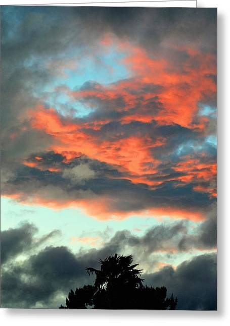 Last Flurry Of Light Greeting Card by Glenn McCarthy Art and Photography