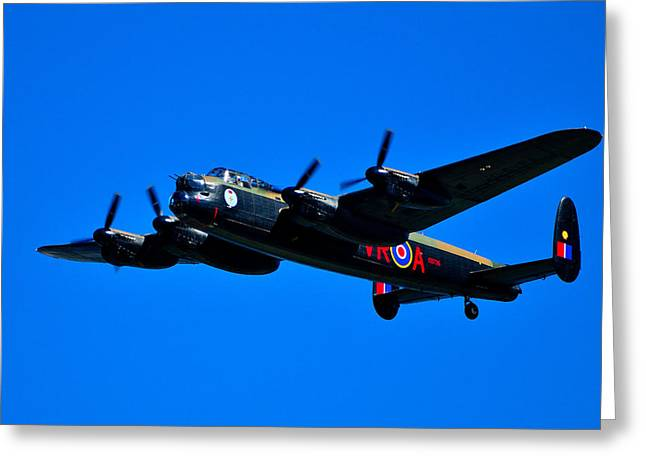 Last Lancaster Greeting Card