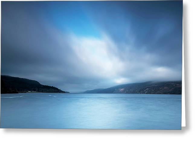 Last Light Loch Ness Greeting Card by Charles Hutchison