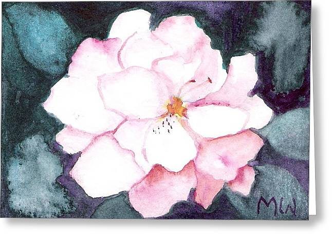 Last Little Begonia Blossom Greeting Card