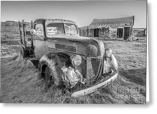 Greeting Card featuring the photograph Last Load  by Charles Garcia