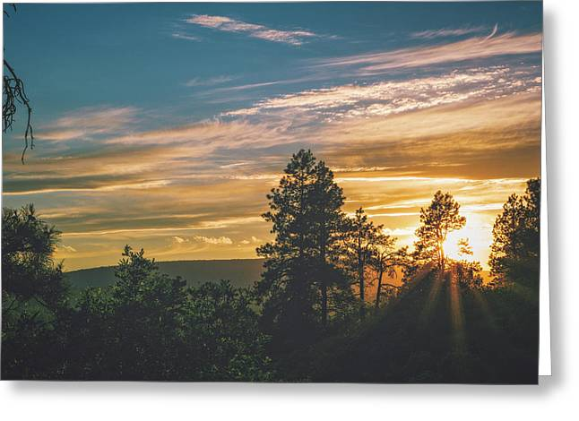 Greeting Card featuring the photograph Last Rays Of Sunday by Jason Coward