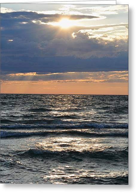 Last Rays Of Sunlight Greeting Card