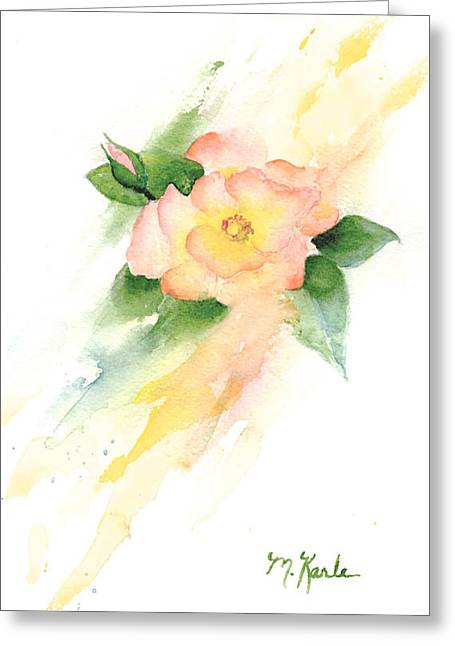 Last Rose Of Summer Greeting Card