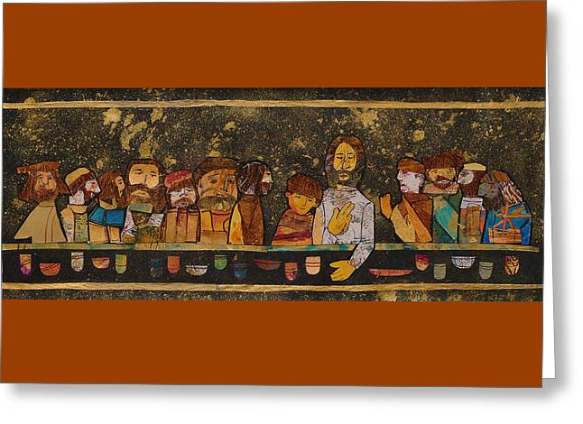 Last Supper 2 Greeting Card by Carol Cole