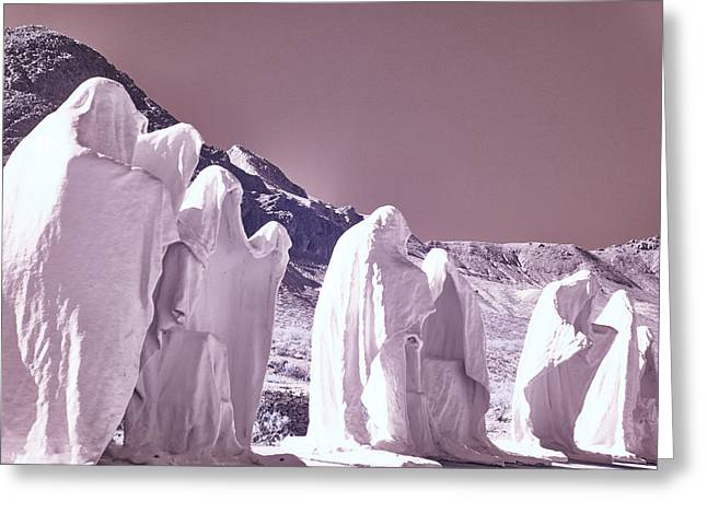 Last Supper Greeting Card by Jim Cook