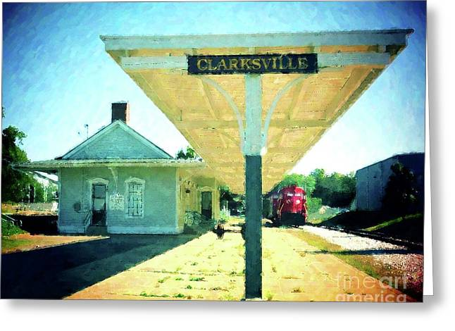 Last Train To Clarksville Greeting Card