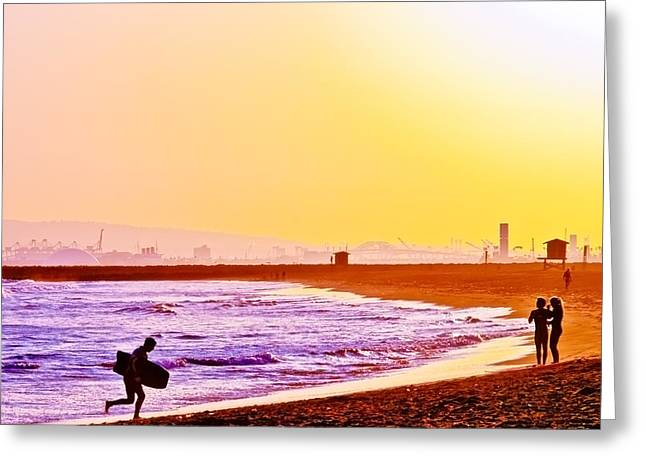 Last Wave Greeting Card by Jim DeLillo