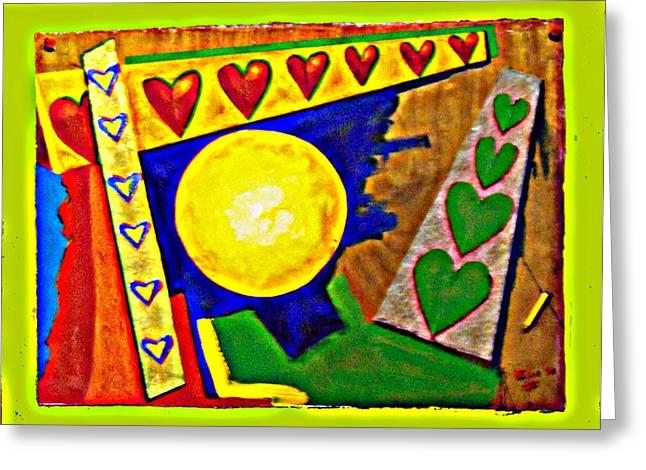 Lastimamos Los Que Mas Amamos Greeting Card by Elio Lopez
