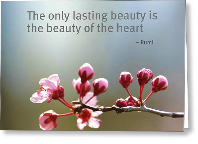 Lasting Beauty Greeting Card