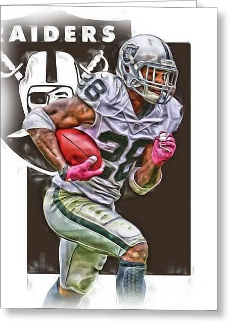 Latavious Murray Oakland Raiders Greeting Card