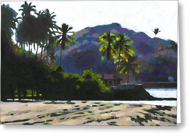 Late Afternoon At Quimixto Greeting Card by Douglas Simonson