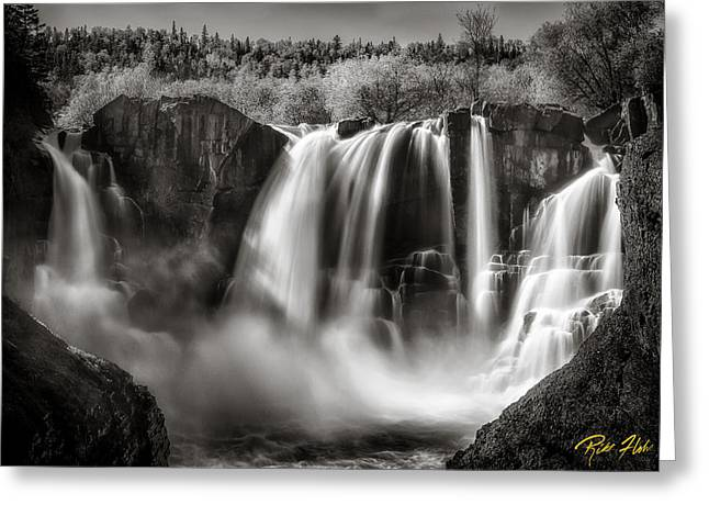 Late Afternoon At The High Falls Greeting Card