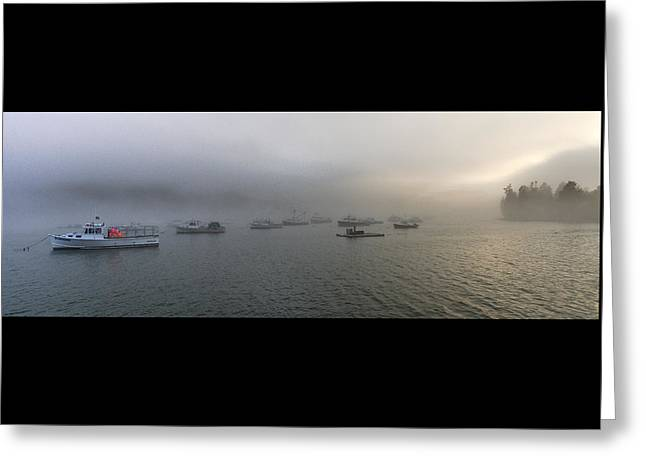 Late Afternoon Fog At Cutler Harbor Greeting Card by Marty Saccone