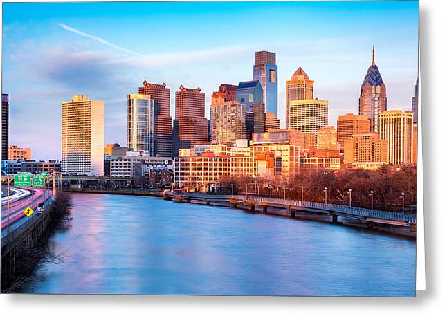 Late Afternoon In Philadelphia Greeting Card