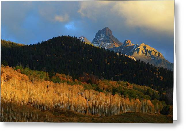 Greeting Card featuring the photograph Late Afternoon Light On The San Juans by Jetson Nguyen