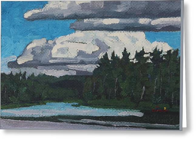 Late Afternoon Robinson Cumulus Greeting Card