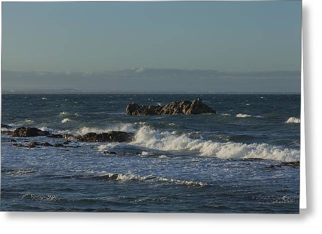 Late Afternoon Waves Greeting Card