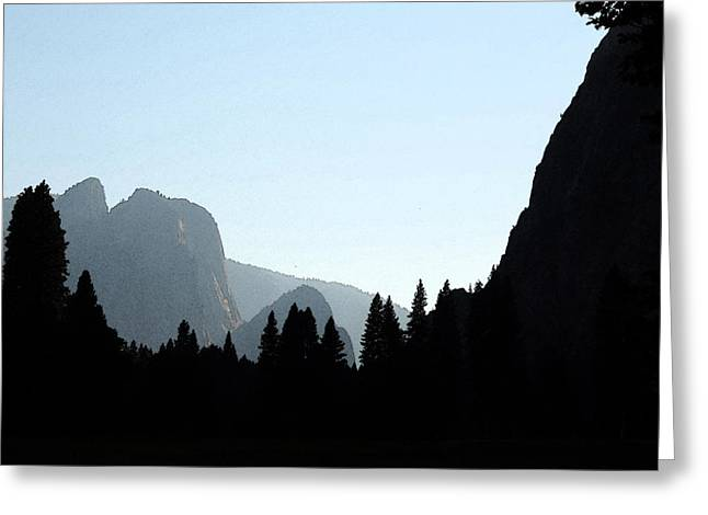 Late Day In Yosemite 3 Greeting Card by Eric Forster