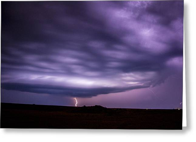 Late July Storm Chasing 033 Greeting Card