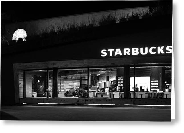 Greeting Card featuring the photograph Late Night At The Bucs by David Lee Thompson