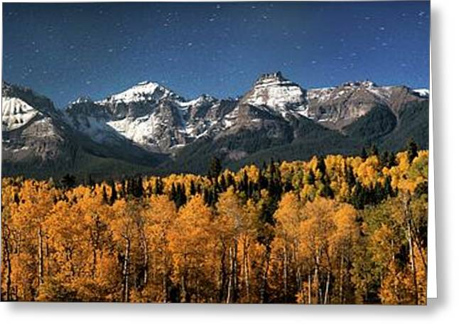 Late Night Sandwich In The Sneffels Wilderness Greeting Card by Mike Berenson