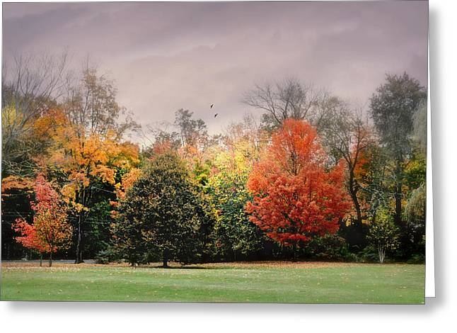 Late October Greeting Card