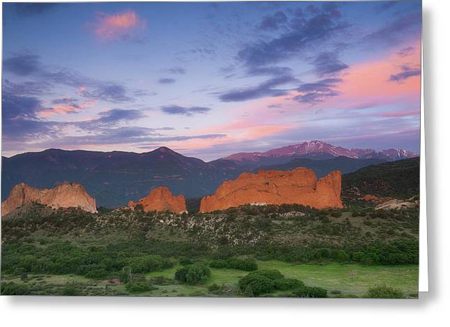Greeting Card featuring the photograph Late Spring Sunrise by Tim Reaves