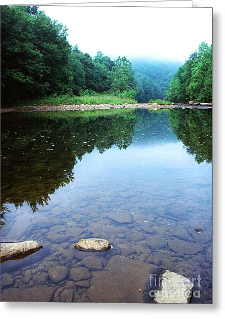 Late Summer At The Baptizing Hole Greeting Card by Thomas R Fletcher