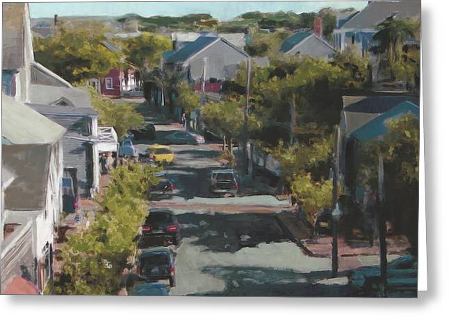 Late Summer Nantucket Greeting Card