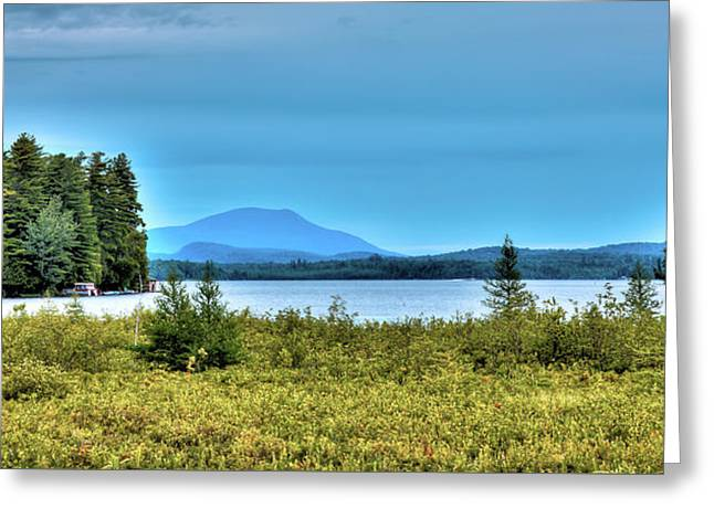 Late Summer On Raquette Lake Greeting Card