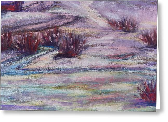 Late Winter Light Greeting Card