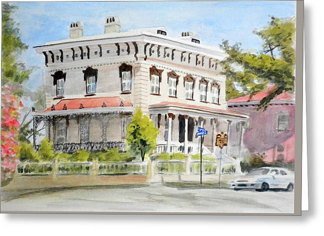 Latimer House Greeting Card by Christopher Reid