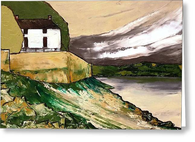 Laugharne Wales  Greeting Card