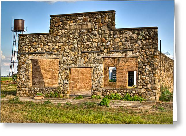 Laura Town Ghost Town In Arkansas  Greeting Card by Douglas Barnett