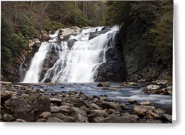 Laurel Falls In Spring #1 Greeting Card by Jeff Severson