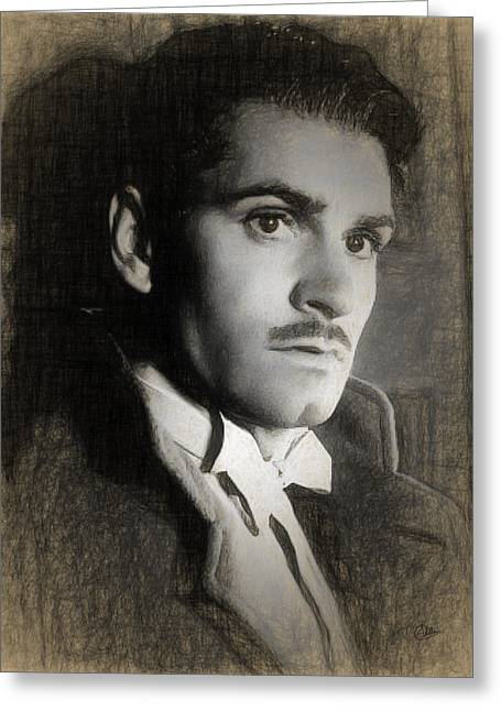 Laurence Olivier Greeting Card by Quim Abella