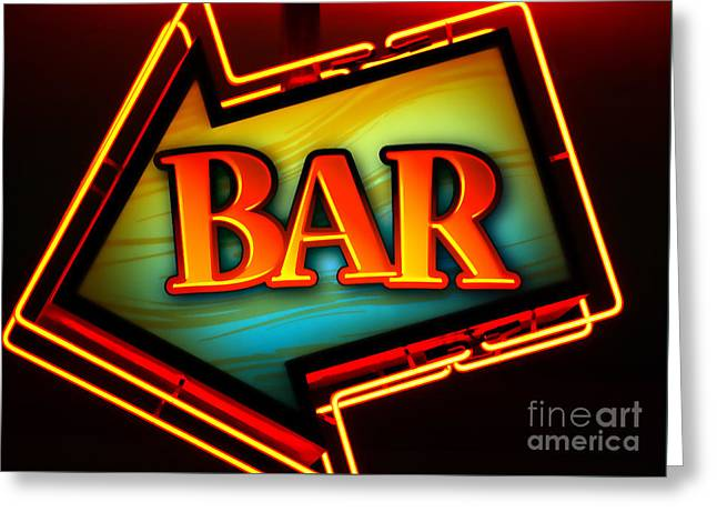 Laurettes Bar Greeting Card