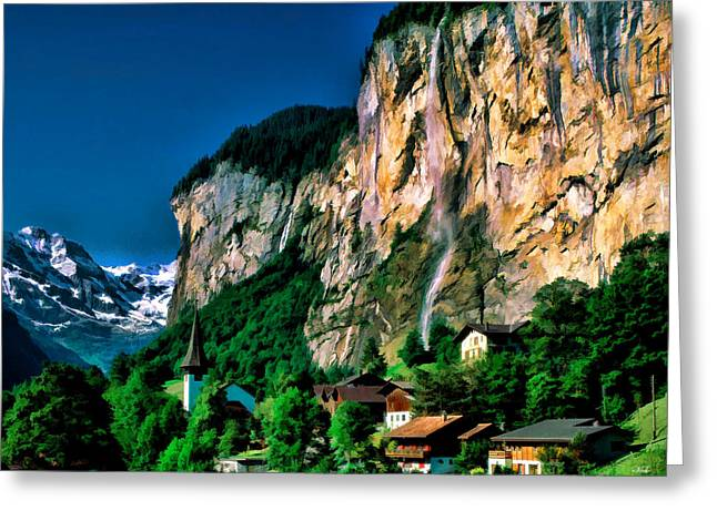 Lauterbrunnen Greeting Card