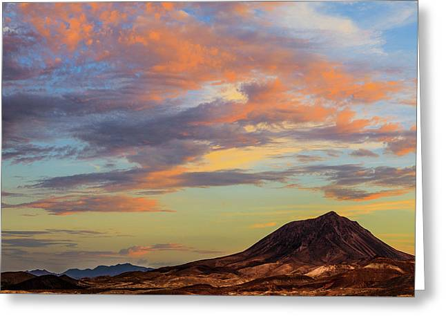 Lava Butte Sunset Greeting Card