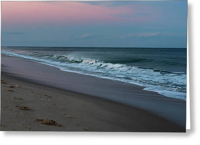 Lavallette Beach New Jersey New Year 2016  Greeting Card by Terry DeLuco
