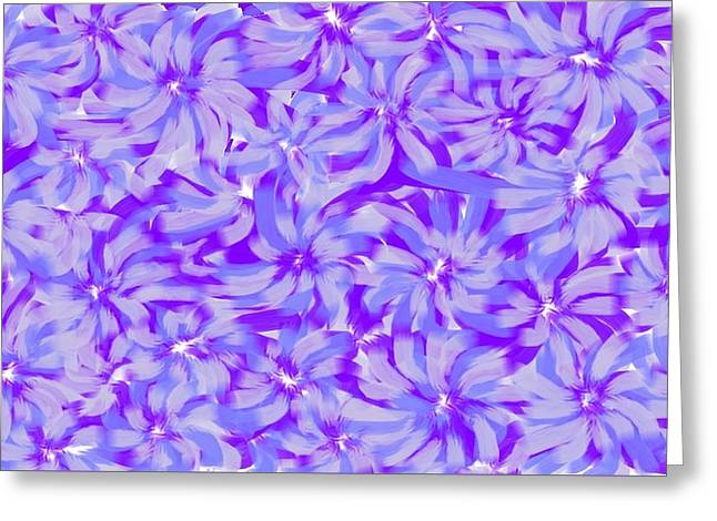 Lavender Blue 1 Greeting Card