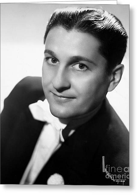 Lawrence Welk (1903-1992) Greeting Card by Granger